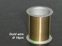 Gold wire Coil, 30m, Ø 18µm