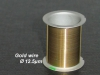 Gold wire Coil, 30m, Ø 12.5 µm (discount € 222)