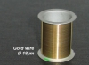 Gold wire Coil, 30m, Ø 18µm (discount € 120)
